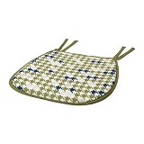 IKEA PRODUCTS ANNVY Chair Pad - Green [002.369.89] (V) - Bantal Duduk / Bean Bag